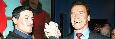 Sly Vs Arnie.